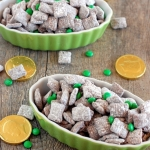 St. Patrick's Day muddy buddies