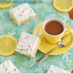 Lemon Meringue Pie Rice Krispie Treats MUST TRY!!
