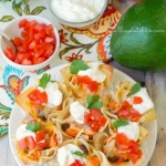 Chicken Quesadilla Wonton Cups YUMMM!!