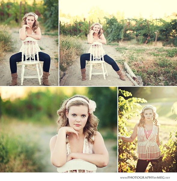 Senior Picture Ideas In The Country: Love The Use Of This Chair And Her Posing #senior