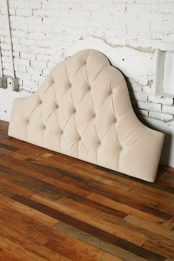 Great Looking Tufted Headboard For