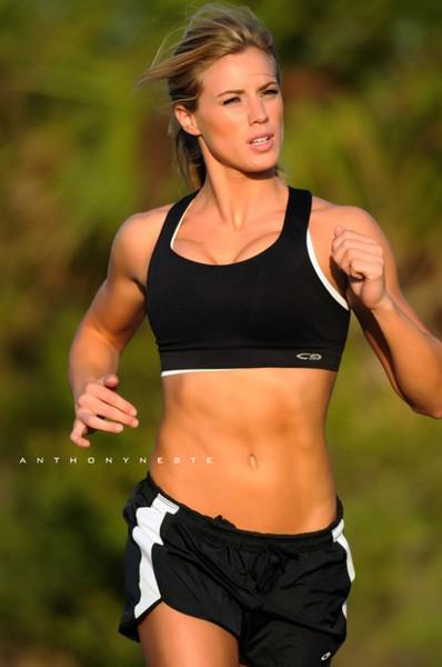 Running Sports Bras - Backless Bra