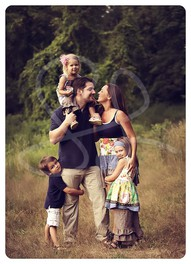 Great family pose