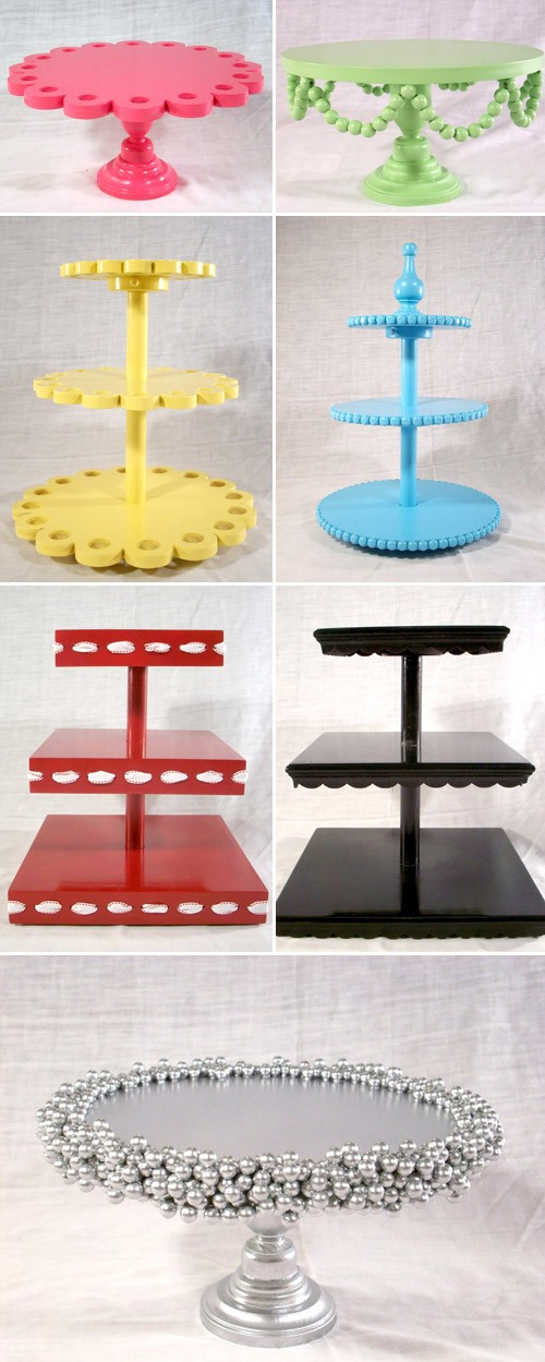 Diy cake stands for Plate cake stand diy