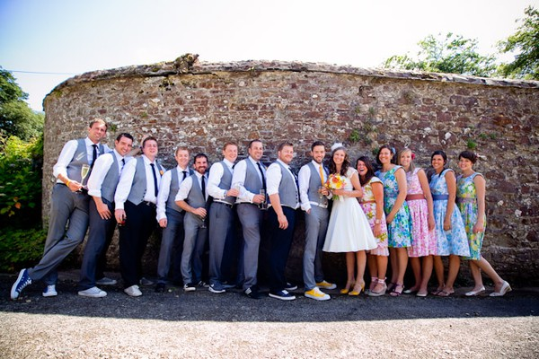 Wedding Party Photo Ideas