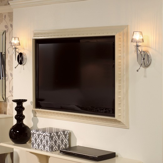 How To Make A Picture Frame For Flat Screen Tvapplepins Com