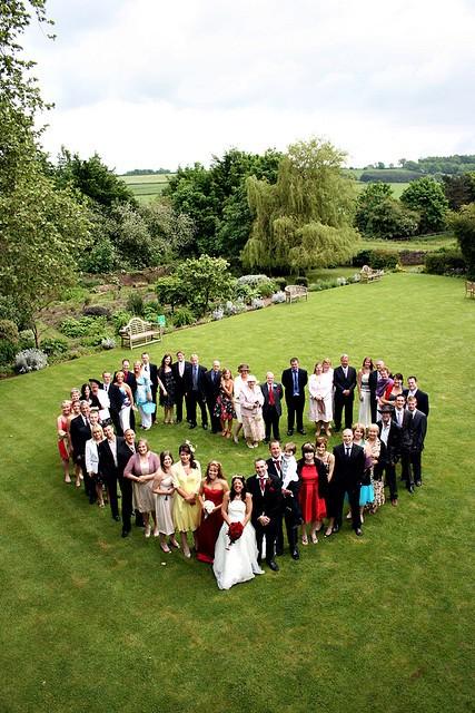 Wedding heart (all family)