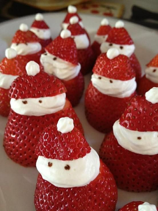 Santa Strawberries!!