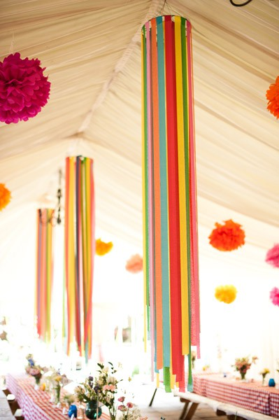 Crepe Paper Decorations