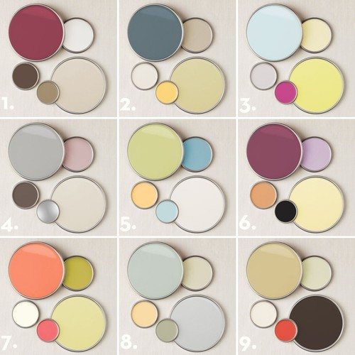 2011 color palettes from better homes and for Neutral paint palette for house