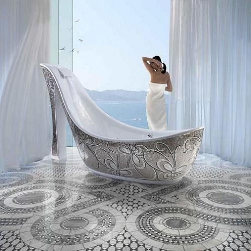 Absolutely, positively the most outrageous bathtub ever ...