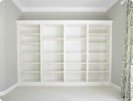 How to make Ikea bookcases look built-in.ApplePins.com