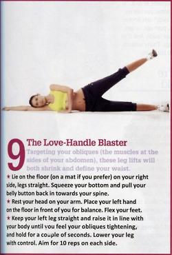 Love handle blaster