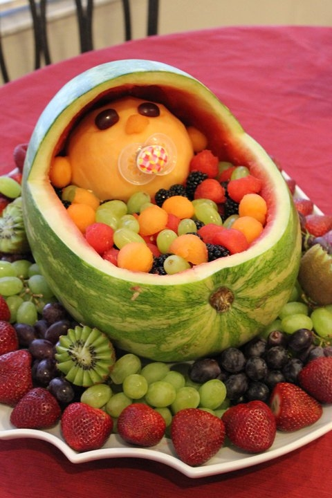 Yummy foods-baby shower! This is at toooo cute!!!