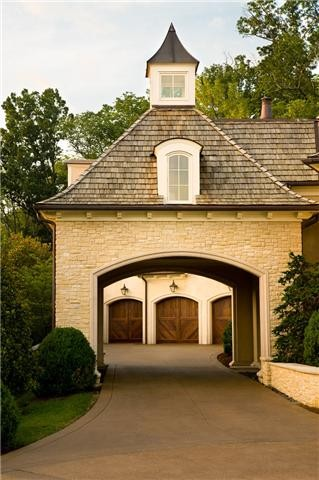 Cupola and porte for Drive through garage door