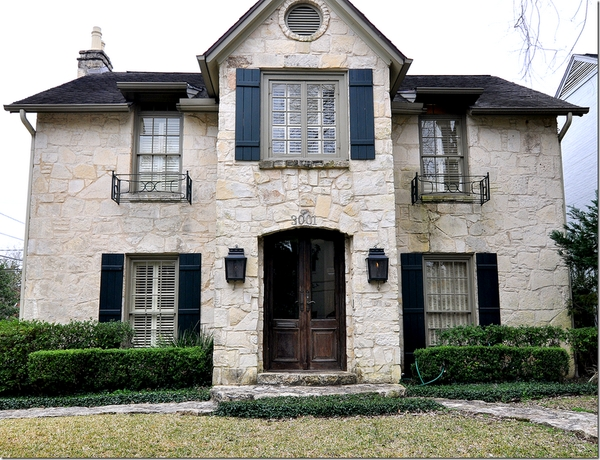 Love stone houses and have always admired this one for Austin stone siding