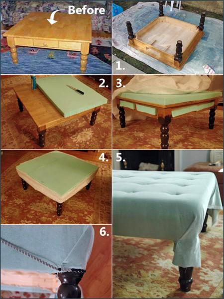 nice ottoman DIY