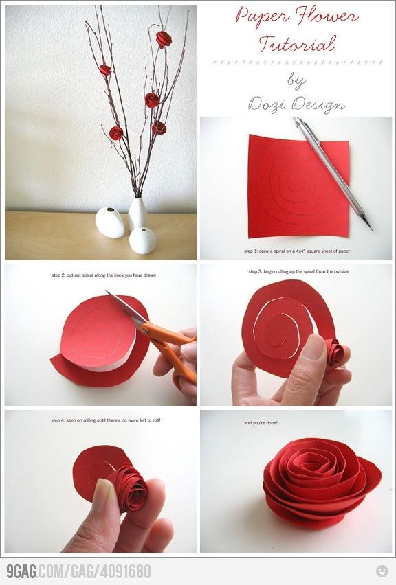 Как можно сделать из бумаги своими руками