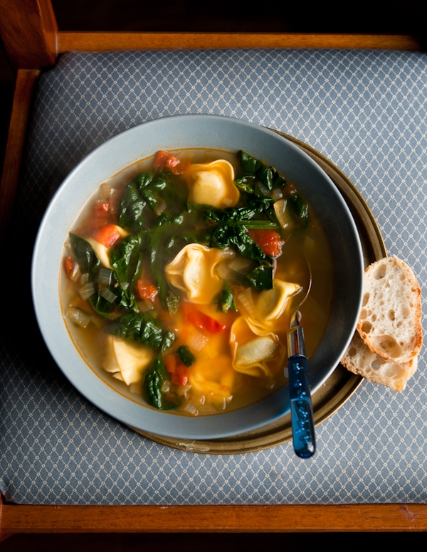 Garlicky Tortellini Soup Recipes — Dishmaps