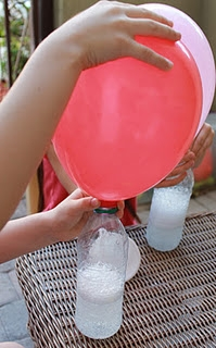 No helium needed to fill balloons