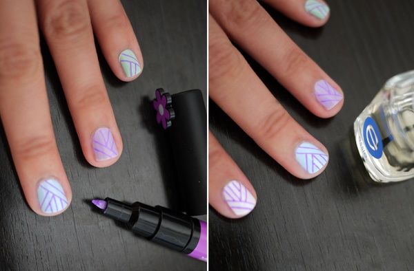 DIY Summer Nail Art