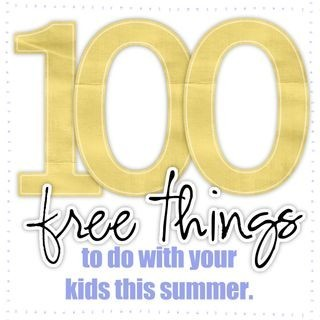 100 Things To Do With Kids This Summer!  Please Repin For The Kids