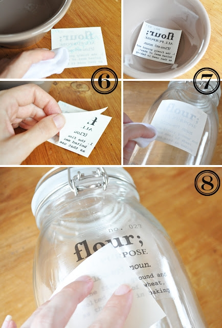 How to make your own decals for any jar or bottle