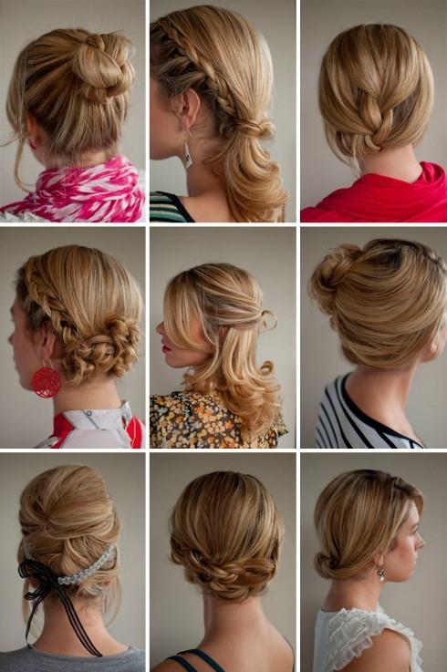 Причёски на средние волосы для девушек