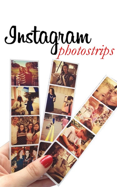 How To Make Instagram Photostrips Tutorial