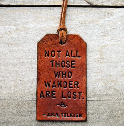 So very true. A little bit of aimless wandering is good for you.