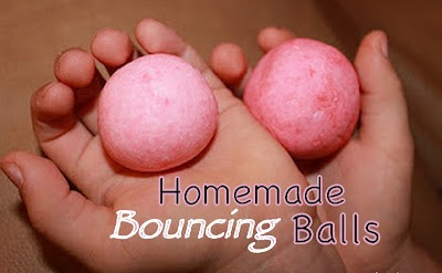 EASY HOMEMADE BOUNCING BALLS