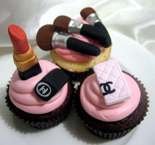 Chanel Makeup Cupcakes