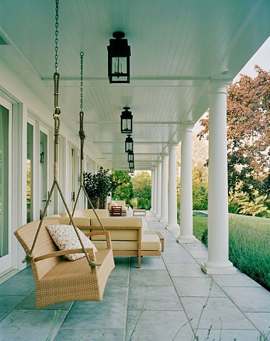 Front porch living.