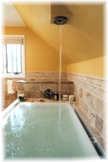 Kohler Soak Tub The Water Over Flows To Create A
