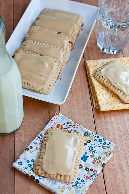 Maple Cinnamon Oat Pop Tarts