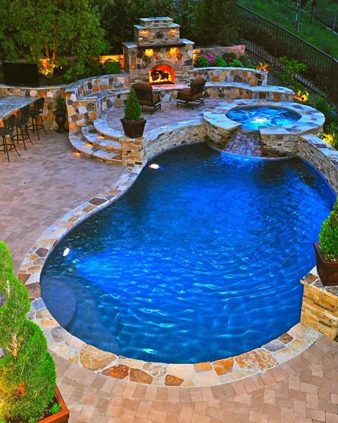 Pool rock