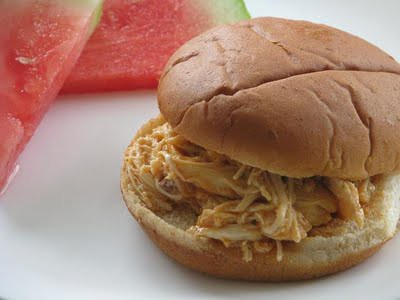 slow cooker buffalo chicken sandwiches 4 chicken breast halves 16 oz 1 ...