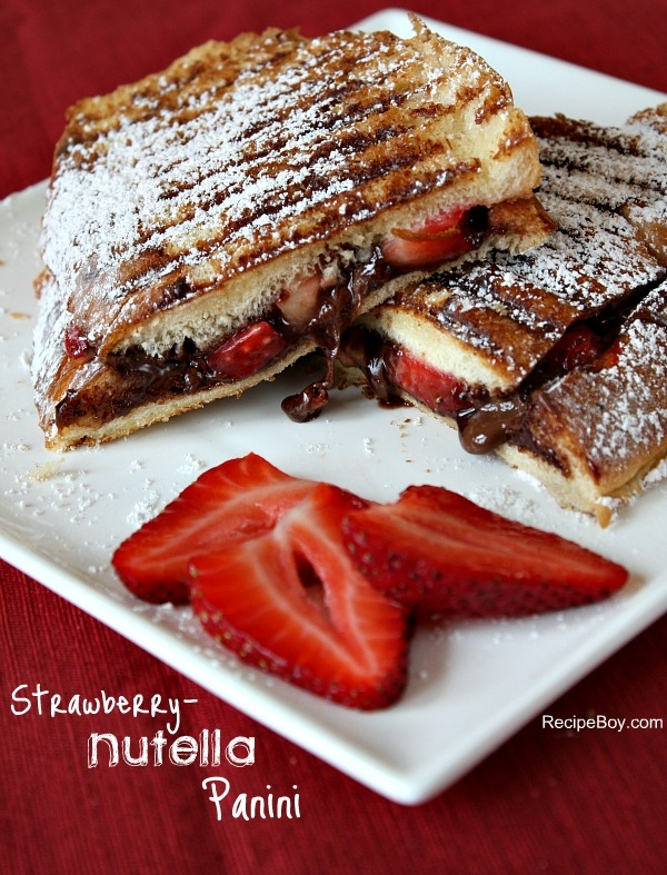 Strawberry-Nutella PaniniApplePins.com