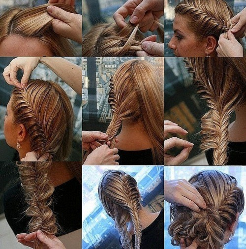 Outstanding Fish French Braid To Cool Bunapplepins Com Short Hairstyles For Black Women Fulllsitofus