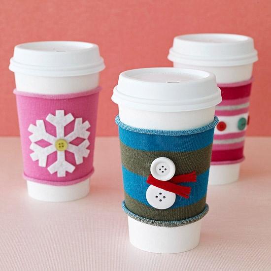 Diy Holiday Coffee Cup Sleeveslepins