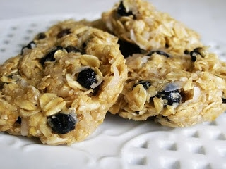 No Bake Blueberry Oatmeal CookiesApplePins.com