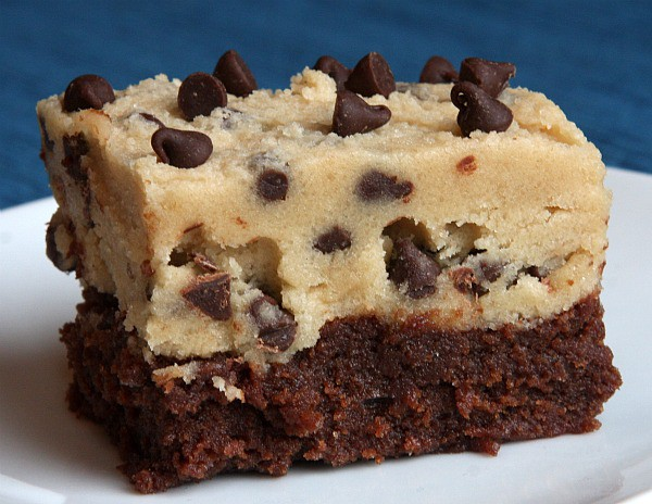 Cookie Dough Brownie Recipeapplepins Com