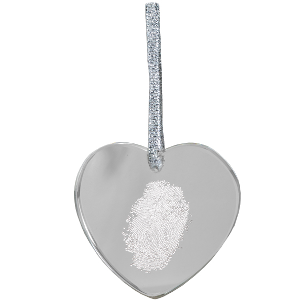 Family Fingerprint Ornament