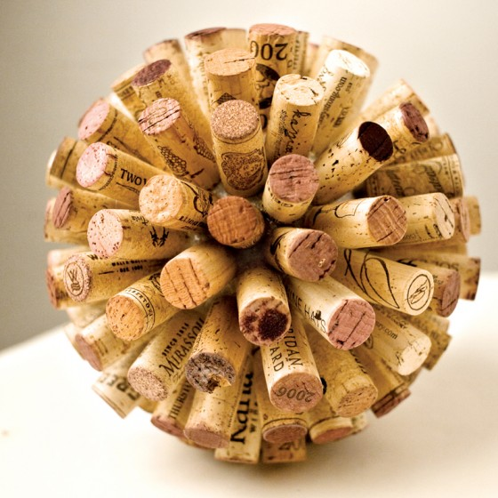 Cork the home design creatively - Manualidades con corchos ...