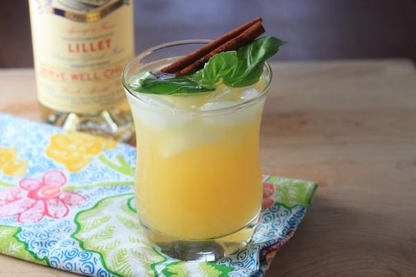 Lillet basil for Cocktail lillet