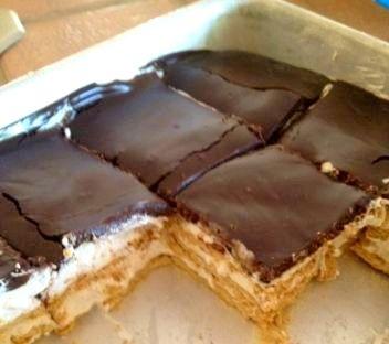 No bake s'mores cakeApplePins.com