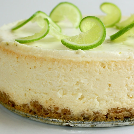 Margarita Cheesecake Recipe — Dishmaps