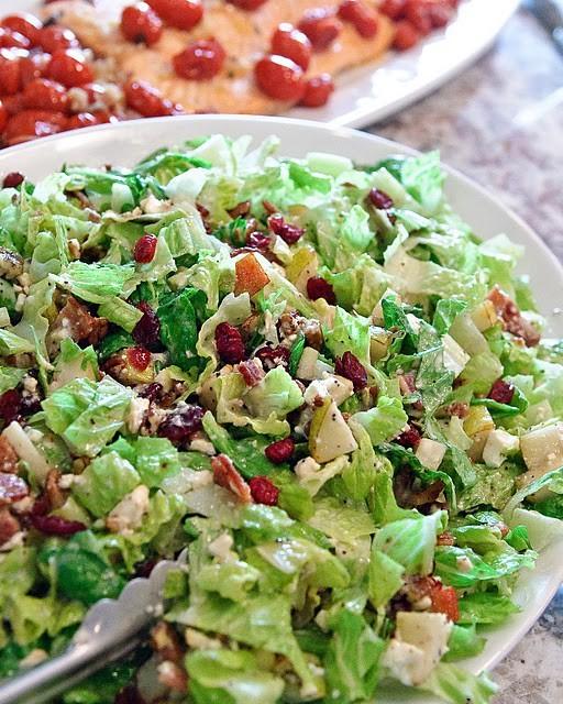 Cranberry-Pear Salad.