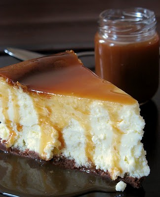 Pillow Cheesecake With Salted Butter Caramel ...