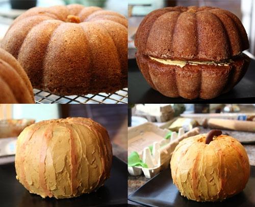 Pumpkin Shaped Cake Pan